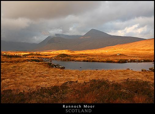 Rannoch Moor. Sébastien Brière