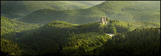 Chateau de Fleckenstein - Vosges du Nord ©Sébastien Brière