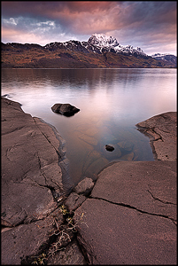 Loch Maree and the Slioch mountain©Sébastien Brière