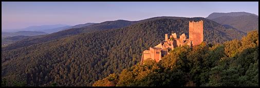Château Saint-Ulrich, Ribeauvillé, Alsace©Sébastien Brière
