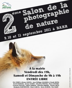 Salon de la photo nature à Barr - 2011